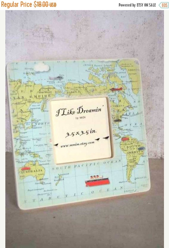mothers day sale instagram frame world map picture frame by mmim. Black Bedroom Furniture Sets. Home Design Ideas
