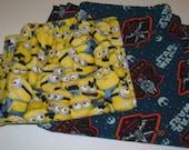 Reserve Listing for Allyson Eakes (Star Wars/Minion Pajama Pants)
