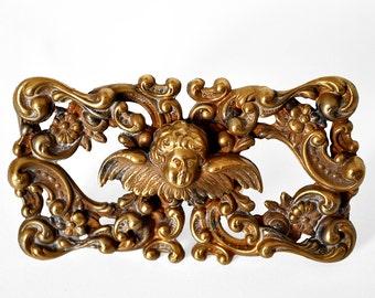 Vintage Nouveau Sash Pin Brooch