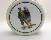 Golfer's Collectible Tin - B. Brent Atwater - Made In USA - 1992