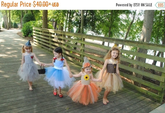 2bf364ac045b STILL TIME to ORDER Wizard of Oz Halloween Costume Dorothy - Tin Man - Lion  -