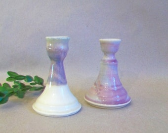 Candlestick Holders - Singles - Handmade on the Potters Wheel - Listing is  for 1 holder - Ready to Ship