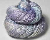 Dancing sea fairies OOAK - Tussah Silk Lace Yarn