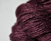 Blood velvet  -   Tussah Silk Lace Yarn
