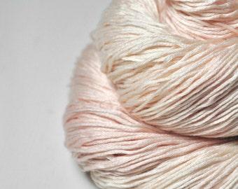 Blushing maiden OOAK -  Silk/Cashmere Lace Yarn