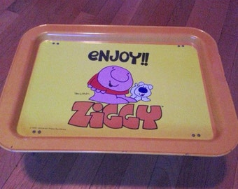Comic Ziggy 80s Breakfast Tray