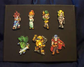 Video Game Chrono Trigger Jewelry Seed Bead Pin
