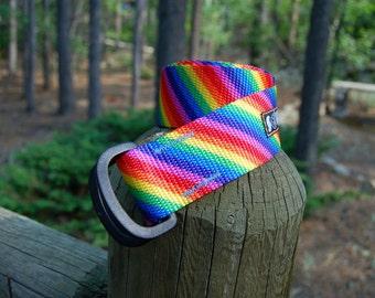Soulrun Fat Nylon Belt - Fruit Stripe
