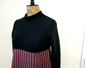 1960's inspired A-line Dress ... XS, S