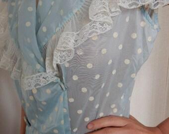 Vintage Garden Party Dress/Wedding Dress