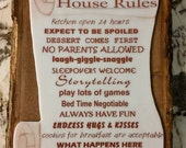 Grandparents House Rules!