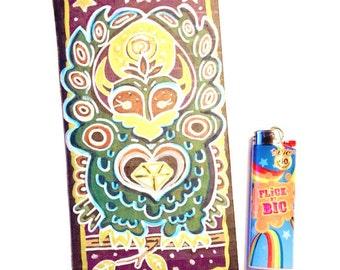 Spirit Owl Cardboard Illustration