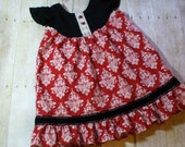 Girls Dress, Toddler Dress,Disney Dress, Christmas Dress,Flutter Dress,Black,Red,Photo Shoot,Special Occasion,Size 18MO,2T,3T,4T,5T,6,7/8