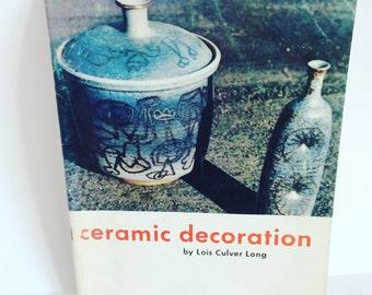 Ceramic Decoration Pottery Book Paperback Home Interiors