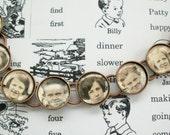 One of a Kind Handmade Ancestors Bracelet;Memory jewelry; Miss Shuster's 5th grade class; 1928