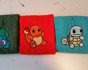 Starter Pokemon Hand Towel