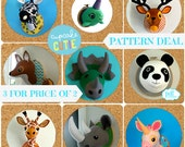 Faux Taxidermy patterns