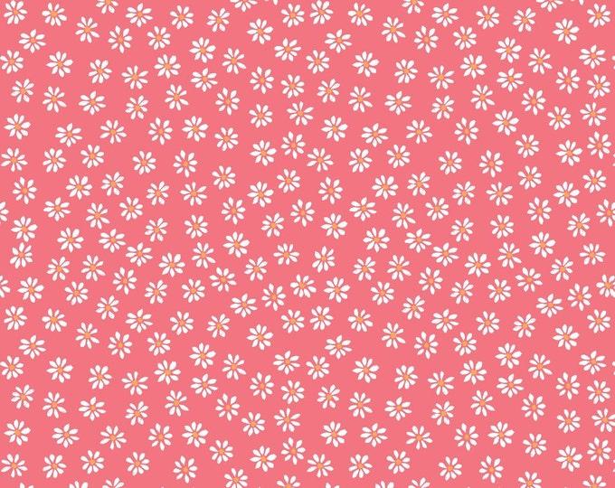 Organic DOUBLE GAUZE Fabric - Monaluna Bloom - Daisies Double Gauze