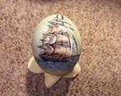 Special Order For Dieter, Hand Painted Ostrich Egg
