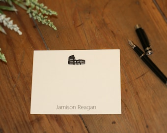 Personalized Landmark Silhouette Cards