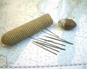 Sailors Macrame Wooden Needle Case - Smith & Son Needles Sail Makers