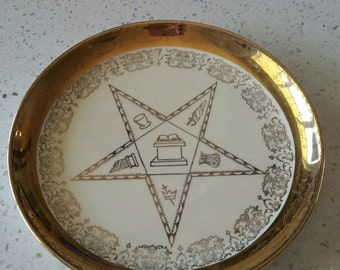 Eastern Star collectors Plate by Sabin.