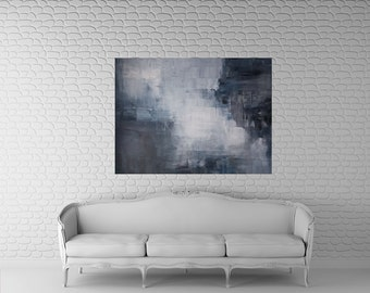 """Abstract art Painting acrylic, large, 40x 30"""", Original Abstract Art, Kris Gould, Modern Art, Free Shipping, Contemporary Art, Home Decor"""