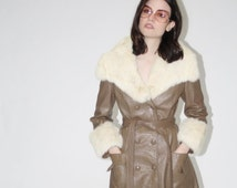 Final SALE 70% Off - Vintage 1960s Suede Coat - Vintage 60s Suede Coats- The Penny Lane Coat - WO0138