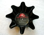 Rocky Horror Picture Show Record Bowl Made From Repurposed Vinyl Album