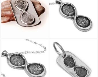 Add on extra fingerprint for fingerprint jewelry