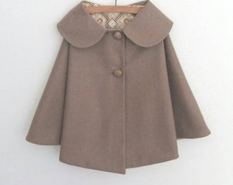 Child's Wool Cape