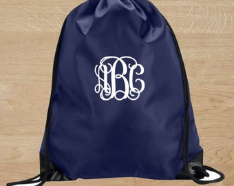 Cinch Sack - Monogram Cinch Sack - Monogram Book Bag - Monogram Sports Bag