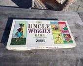 Vintage The Uncle Wiggily Game 1967 Parker Brothers by Howard R. Garis Skillery-Scallery alligator Pipsisewah Skeezicks Dr Possum No. 151