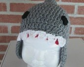 Shark Hat/ Available in all sizes