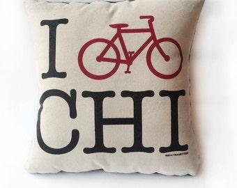 I Bike Chi Pillow