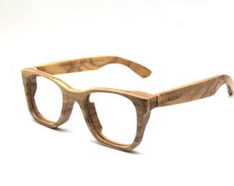 Defective  olive wood  WALKER2016 handmade prescription sunglasses eyeglasses