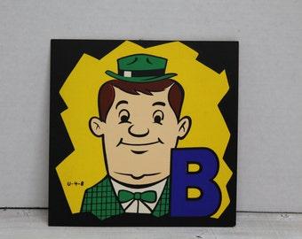 Vintage 1960's Advertising, Comic, Art, Presentation Materials, B-Man