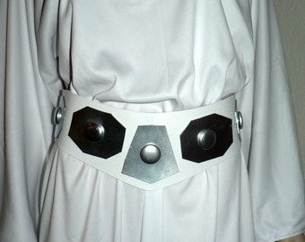 Princess Leia Belt - Leather Belt- Cosplay, Costume, A New Hope