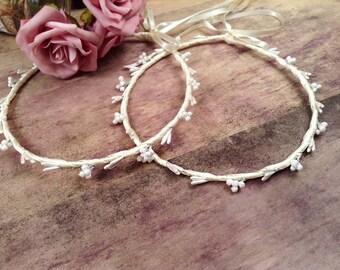 STEFANA Wedding Crowns - Orthodox Stefana - Bridal Crowns AGNI - One Pair
