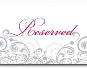 Reserved for ztj2004 This is to rush an order