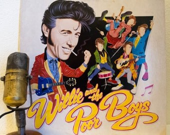 "ON SALE Charlie Watts & Bill Wyman (ex-Rolling Stones) Vinyl LP 1950s Roots Rock and Roll ""Willie and the Poor Boys"" (1985 Ripple w/""Sugar B"