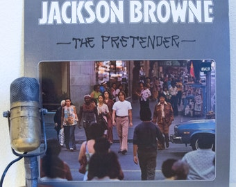 "ON SALE Jackson Browne Vintage Vinyl Lp 1970s Classic Rock Pop Singer Songwriter ""The Pretender"" (1976 Elektra w/""Here Come Those Tears Agai"