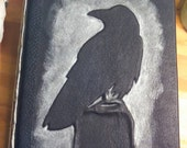 Raven Leather Journal