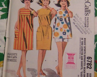 cute vintage beach dress pattern