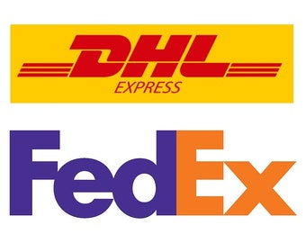 Courier Shipping Upgrade - DHL or FedEx