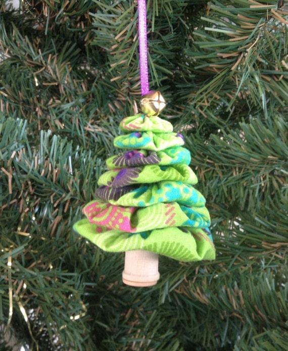 Christmas Tree Flower Power : Primitive lime green flower power yo by doubleacreations