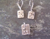 Everyday Earrings and Pendant Set, READY TO SHIP