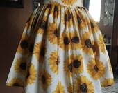 Sunflower Elastic Skirt