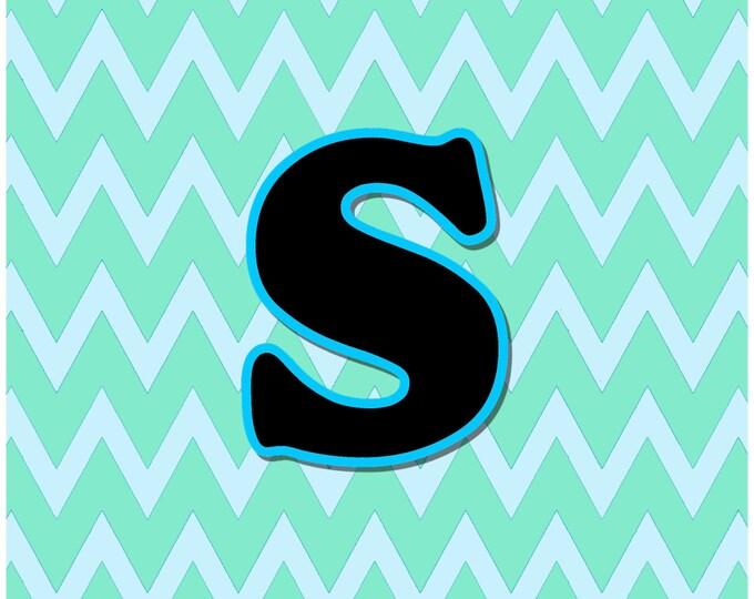 Letter S Digital Download