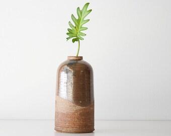 Vintage Modern Stoneware Pottery Vase